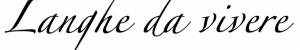 scritta langhe da vivere
